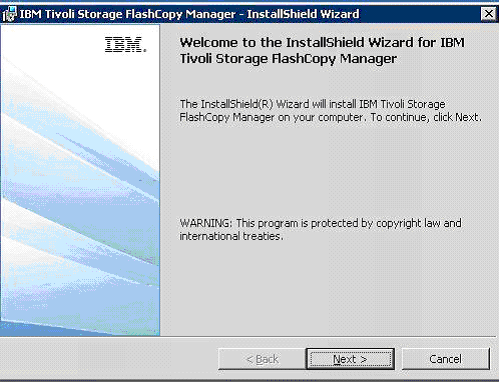 click-next-on-the-ibm-tivoli-fcm-installation-wizard-start-page