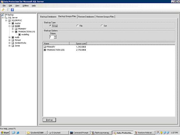 ibm-tfcm-choose-database-to-backup
