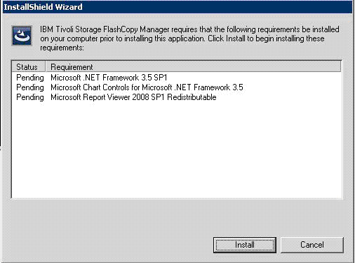 ibm-tivoli-flashcopy-manager-pre-requisite-installation